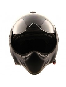 CASQUE MODULABLE ROOF RO5 BOXER V8 - FULL BLACK