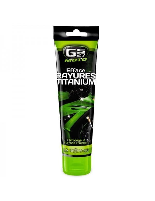 PRODUIT EFFACE RAYURE TITANIUM GS 27