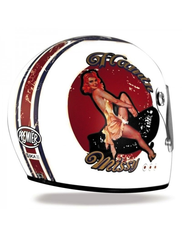 CASQUE INTEGRAL PREMIER TROPHY - PIN UP
