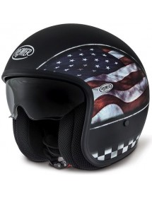 CASQUE JET PREMIER VINTAGE - FLAG USA
