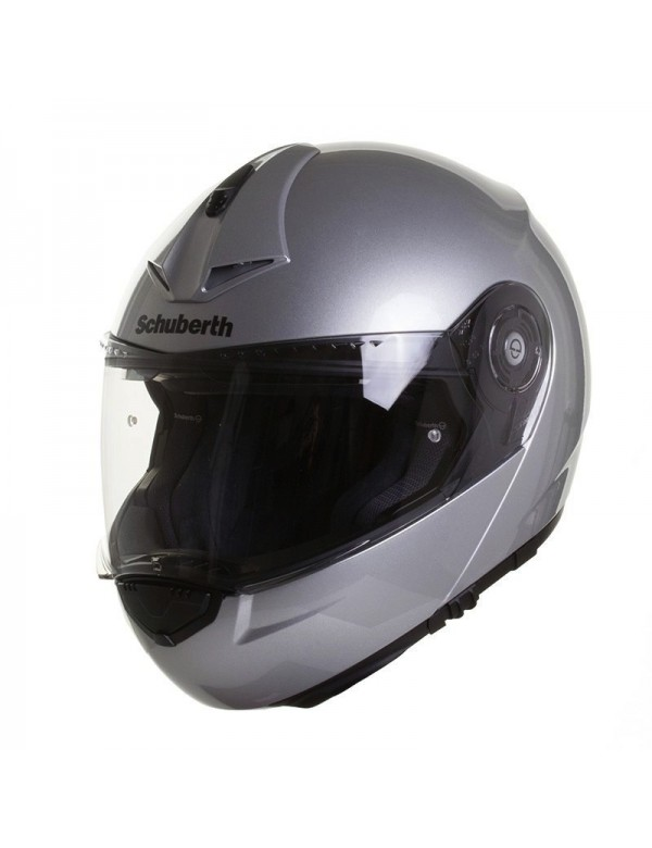 CASQUE MODULABLE SCHUBERTH C3 PRO - ARGENT BRILLANT