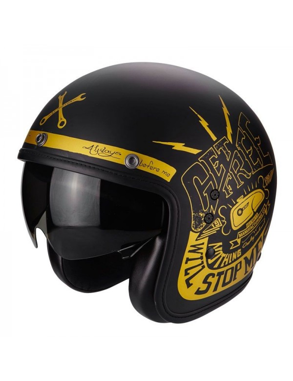 CASQUE JET SCORPION BELFAST FENDER