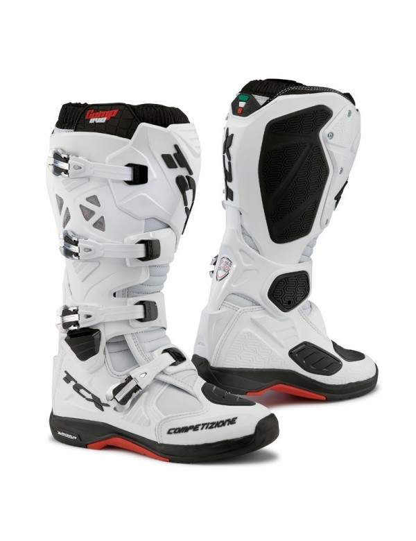 BOTTE TCX COMP EVO MICHELIN CROSS - BLANC