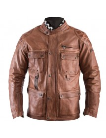 VESTE HELSTONS SCREAMY - CAMEL